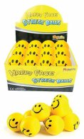 Happy Face Stress Ball 65mm