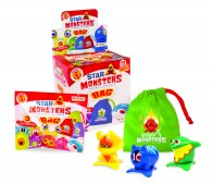 Wholesale Box of Star Monsters Pocket Friends BAGS Toys (12pcs)