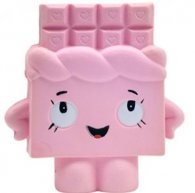 Wholesale Squishies Squishy Slow Rising CHOCOLATE PINK (3 pcs)