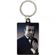 James Bond Metal Keyring