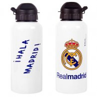 Real Madrid F.C. Aluminium Drinks Bottle WHT