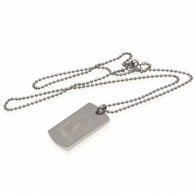 Nottingham Forest F.C. Engraved Crest Dog Tag & Chain