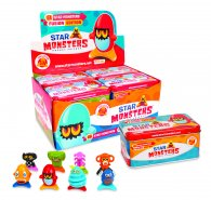 Wholesale Box of Star Monsters Pocket Friends TINS Toys (8 pcs)