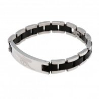 Arsenal F.C. Black Inlay Bracelet