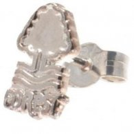Nottingham Forest F.C. Sterling Silver Stud Earring