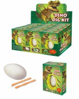 Dinosaur Fossil Egg Dig-it-Out 12pce