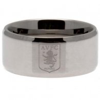 Aston Villa F.C. Band Ring Medium