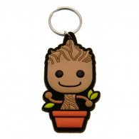 Guardians Of The Galaxy PVC Keyring Baby Groot