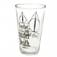 Harry Potter Large Glass Deathly Hallows