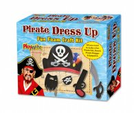Wrapped Foam Pirate Dress Up Craft Kit