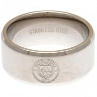 Manchester City F.C. Band Ring Large