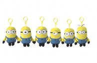 Wholesale Despicable Me 2 Minions 13cm Bag Clip Plush Toys (12)