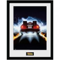 Back To The Future Picture Delorean 16 x 12