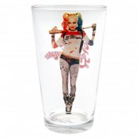 Suicide Squad Large Glass Harley Quinn