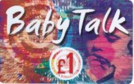Wholesale UK Baby Talk £1 International Calling Cards Phonecards