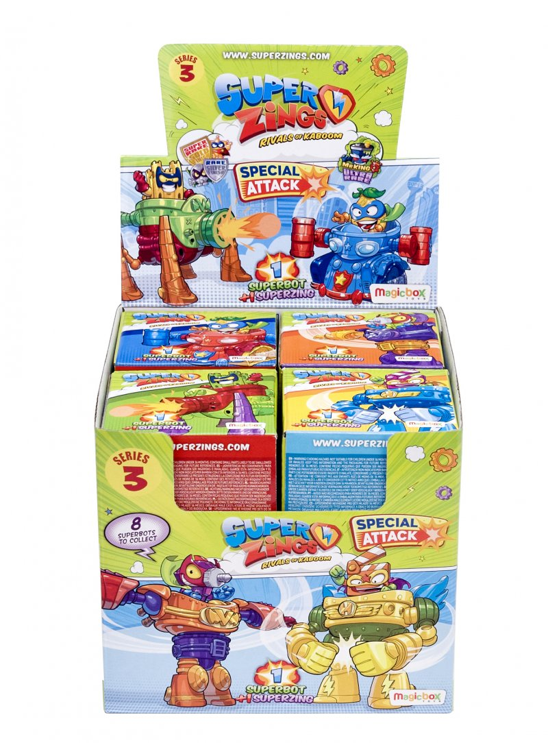 Wholesale Superzings Series 3 - SUPERBOTS Toys Games (8 pcs)