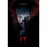 IT Poster Pennywise Hush 203