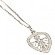 Leeds United F.C. Sterling Silver Pendant & Chain