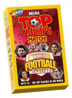 Mini Top Trumps - World Football MEGASTARS 2014