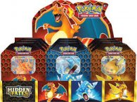 Wholesale Pokemon HIDDEN FATES TINS Trading Card Game TCG (6 pc)