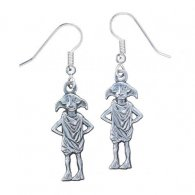 Harry Potter Silver Plated Earrings Dobby