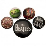 The Beatles Button Badge Set WT