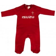 Wales R.U. Sleepsuit 0/3 mths PS