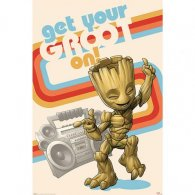 Guardians Of The Galaxy Poster Groot 124