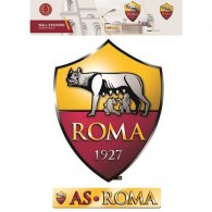 AS Roma Wall Art