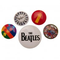 The Beatles Button Badge Set BK