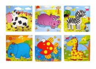 Wooden Jigsaw Puzzle 15cm 24pce Inner
