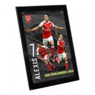 Arsenal F.C. Glass Player Profile Sanchez 8 x 6