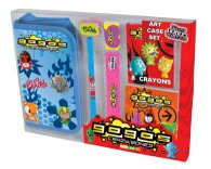 Gogos Crazy Bones Bumper Stationery Art Case Set