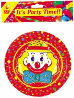 6 Pce Clown Jelly Bowls 3 Doz Inner