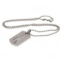 Arsenal F.C. Dog Tag & Chain CO GN