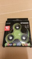 Wholesale Fidget Hand Finger Spinner Green Toys GLOW IN THE DARK