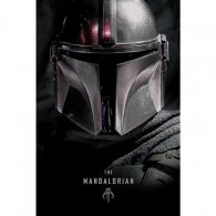 Star Wars The Mandalorian Poster Dark 83