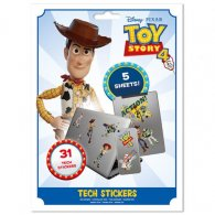 Toy Story 4 Tech Stickers