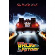 Back To The Future Poster Delorean 234