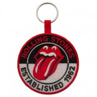 The Rolling Stones Woven Keyring