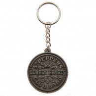 The Beatles Metal Keyring Sgt Pepper