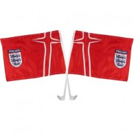 England F.A. Car Flag Twin Pack
