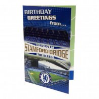 Chelsea F.C. Pop-Up Birthday Card