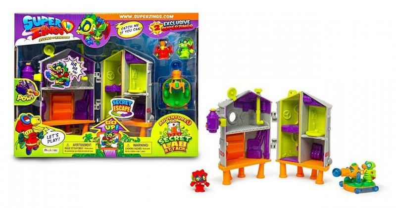 Wholesale Superzings SECRET LAB ATTACK Playset Toys Games