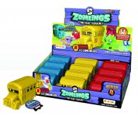 Wholesale Zomlings in the Town Series 4 BUSES (12 pcs)