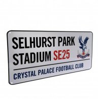 Crystal Palace F.C. Street Sign