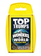 UK Wholesale Top Trumps - WONDERS OF THE WORLD Card Game (6 pcs)