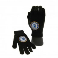 Chelsea F.C. Knitted Gloves Junior