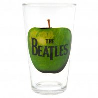 The Beatles Large Glass Apple Logo