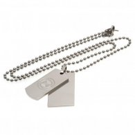 Celtic F.C. Double Dog Tag & Chain